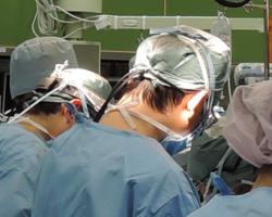 手術中写真